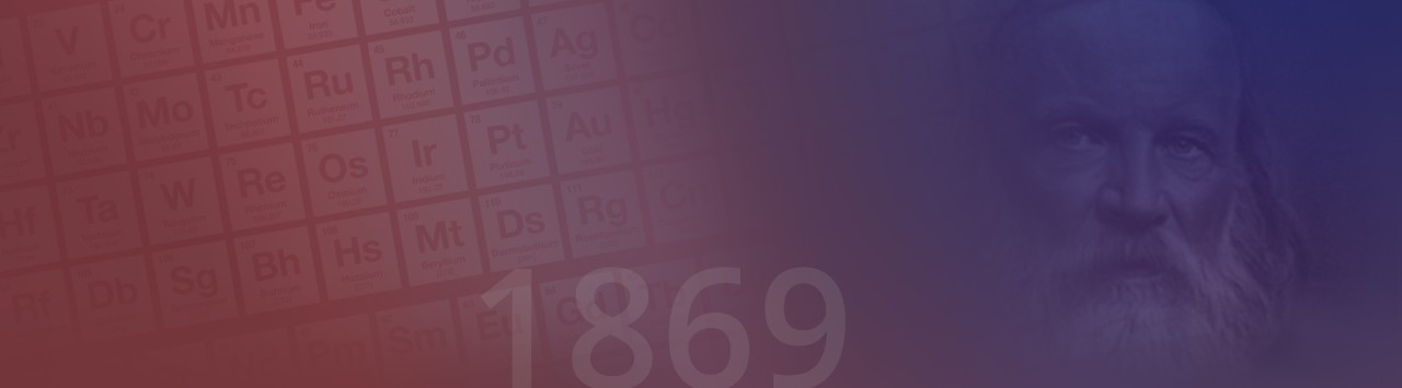 Periodic Table image year 1869