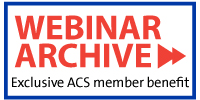 ACS Webinars Archive Button