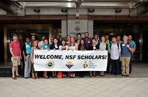 NSF Scholars at the 2015 GC&E Student Workshop