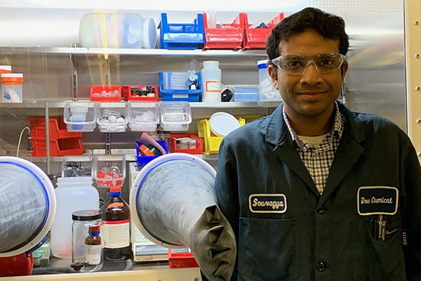 Souvagya Biswas, Associate Research Scientist, Dow
