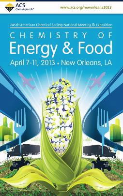 Graphic for the ACS National Meeting's Chemistry of Energy & Food theme