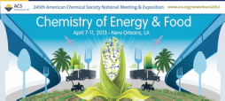 "ACS's 245th National Meeting & Exposition ""Chemistry of Energy & Food"" graphic"