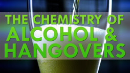 "Screenshot of ACS video ""The Chemistry of Alcohol and Hangovers."""