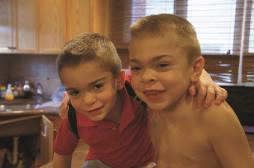Brothers Justin and Jason Leider who have Hunter syndrome