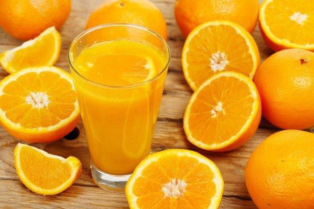 citric acid in citrus fruits