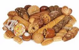 breads, pastries and other grain products