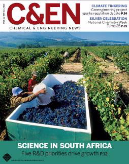 cover of C&EN magazine December 17, 2012 issue