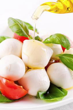 Buffalo milk mozzarella