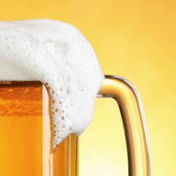 A heady discovery for beer fans the first gene for beer foam could beer froth flowing from mug of beer freerunsca Image collections