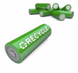 recyclable batteries