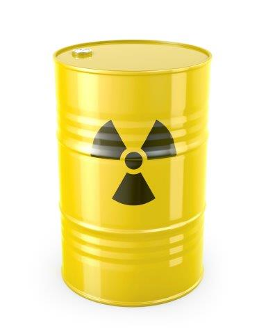 chemical materials improving detection of radioactive material in nuclear waste water