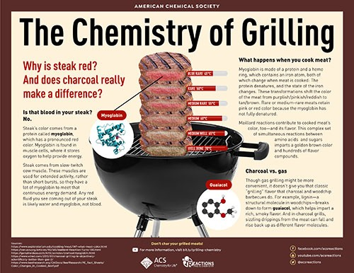 The Chemistry of Grilling