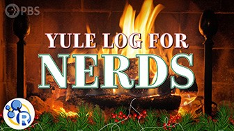Yule Log Chemistry Trivia - 4 Hours of Cozy Fireplace for Your Nerdy Holiday Parties image