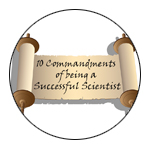 Ten Commandments for Being a Successful Scientist image