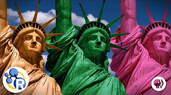 The Statue of Liberty's True Colors?  image